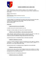 CR du 07/07/2015