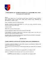 CR du 02/11/2020