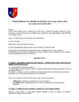 CR du 09/10/2020
