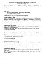 CR du 18/11/2014