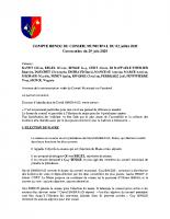 CR du  03/07/2020