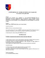 CR du  09/07/2020